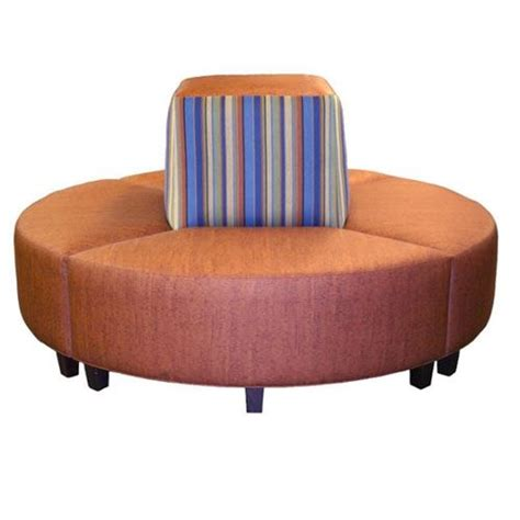 round banquette round chair lobby institutional hospitality