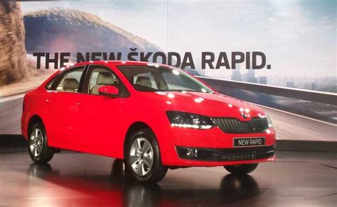 skoda rapid cost skoda rapid facelift launched in india prices start at rs