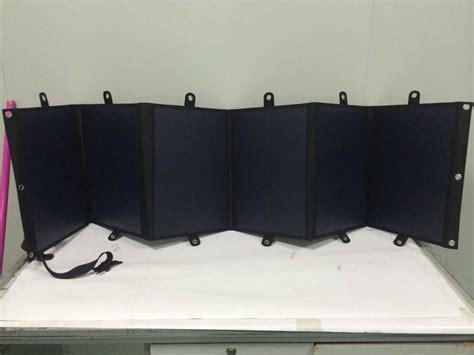 light weight solar panels ultra light weight 120w folding solar panel etaphi electric