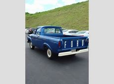 Purchase used 1962 Ford F100 Unibody Short Bed 223 W/ 3 ... $10000 Bill For Sale