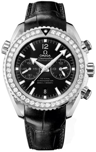 Omega Seamaster Planet Ocean Chrono Black Dial with
