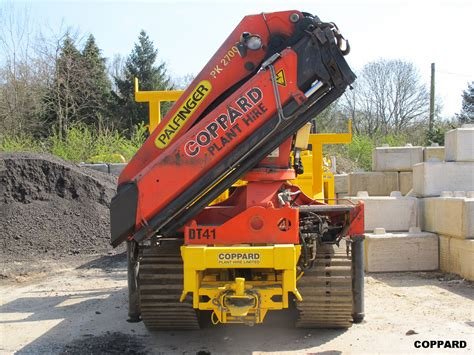 Tracked Crane tracked dumpers with cranes t15 02