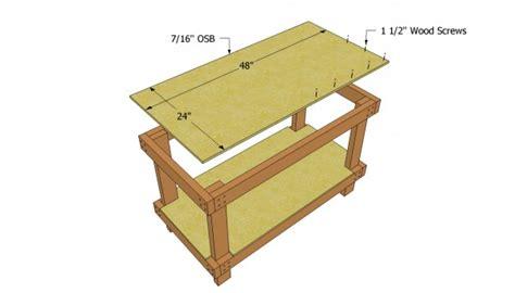 you build it plans workbench plans free myoutdoorplans free woodworking