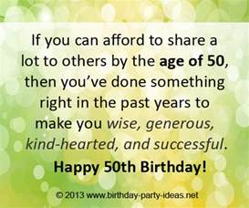 50th birthday card sayings inspirational quotes for 50th birthday quotesgram