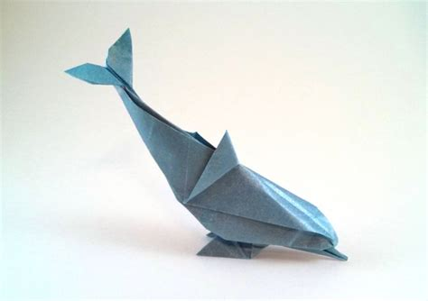 How To Make Origami Dolphin - how to make a dolphin out of paper 28 images origami