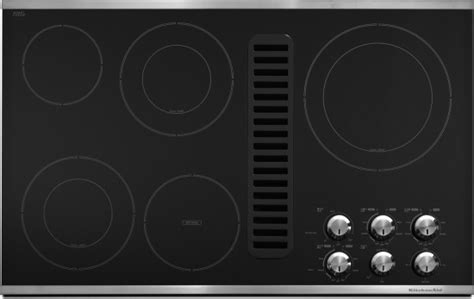 Kitchenaid Downdraft Gas Cooktop by Kitchenaid Expands Cooktop Collection With New Downdraft