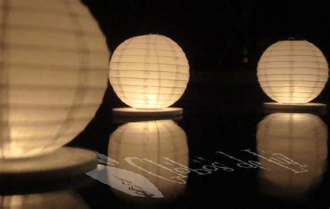 How To Make Floating Paper Lanterns -