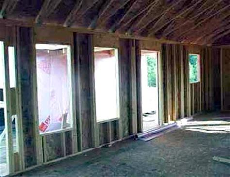 installing windows in house installing new windows for a new home the home plans say it all