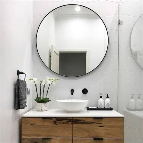 round mirror bathroom round bathroom mirror cabinet majestic looking round