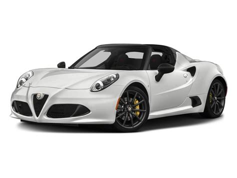 Alfa Romeo 4c Pricing by New 2018 Alfa Romeo 4c Spider Spider Msrp Prices Nadaguides