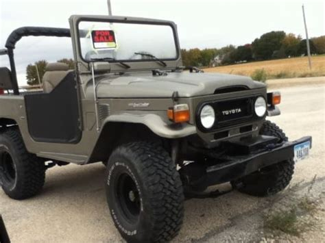 Toyota Fj 40 For Sale Sell Used Toyota Land Cruiser Fj40 In Algona Iowa United