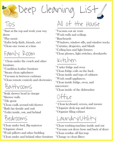 cleaning supplies checklist deep cleaning using the steammachine homeright