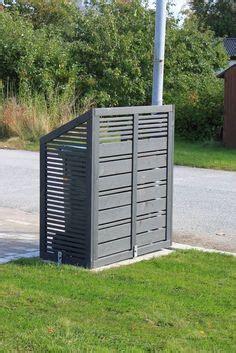 sichtschutz terrasse glas 304 m 252 lltonnenbox 231404b ecoplus 120 liter aluminium