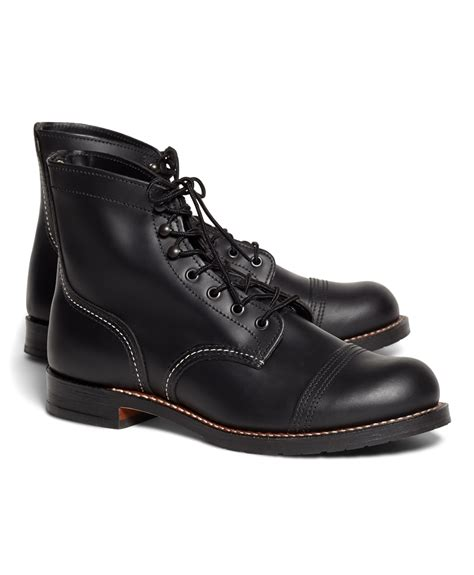 iron ranger boots lyst brothers wing for 9218 premium iron