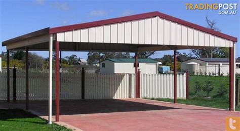 shed city factory manufactured gable roof carport for sale