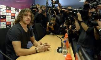 Coach Carryall Set 883 1 Semi barcelona rocked as defender carles puyol announces he is