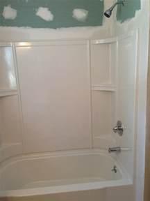 Bathtub Trim Molding Drywall Around Tub Surround Pictures To Pin On Pinterest