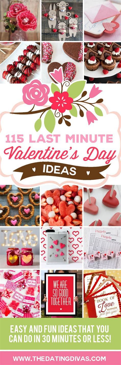 Last Minute Valentines Specials by 115 Last Minute S Day Ideas The Dating Divas