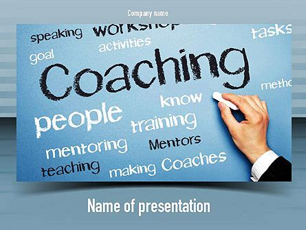Leadership Coaching Powerpoint Template Backgrounds Coaching Ppt Templates Free