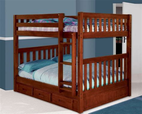 full over full bunk beds with storage bunk beds full over full with storage ebay