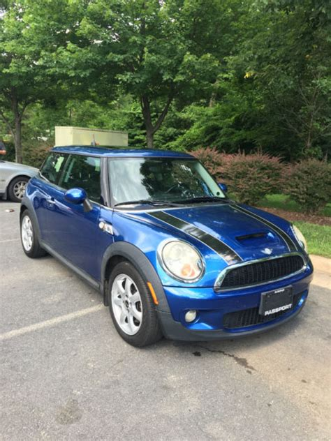Mini Cooper Navigation by 2007 Mini Cooper S Fully Loaded Navigation Warranty