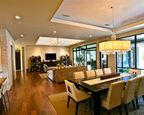 flooring ideas of living room dining room modern interior