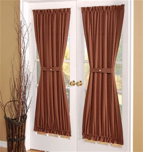 primitive curtains for french doors 1000 images about curtains on pinterest window