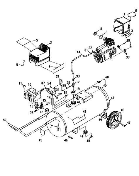 craftsman air compressor parts model 919165250 sears partsdirect