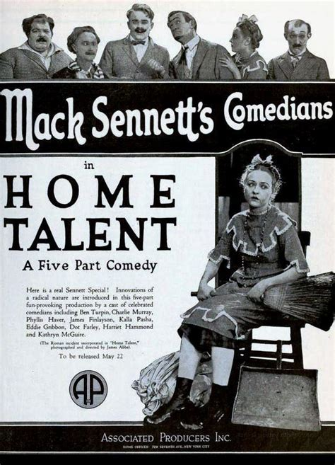 home talent 1921 filmaffinity