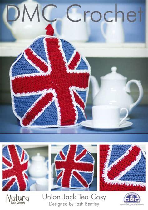 sewing pattern union jack dmc union jack tea cosy crochet pattern 14896l 2