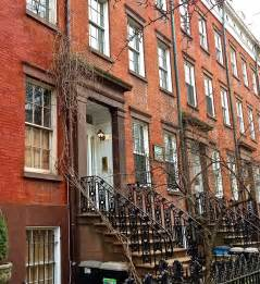 New York House The Loveliest Stretch Of Houses In Old Chelsea Ephemeral