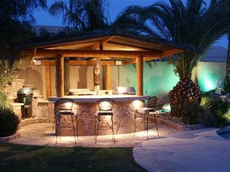 Outdoor Bbq Island Lighting Outdoor Bar Plans And Designs Home Decor Interior Exterior