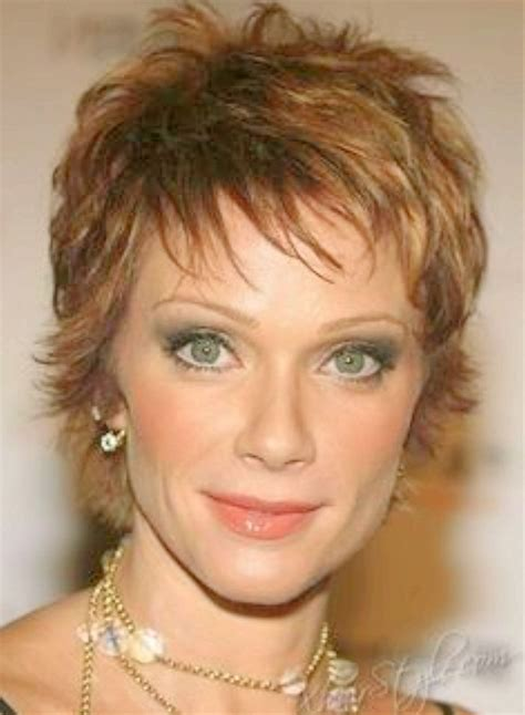 show pictures of the back of a short shag hairstyle women on medium length hair styles for women over 60 short