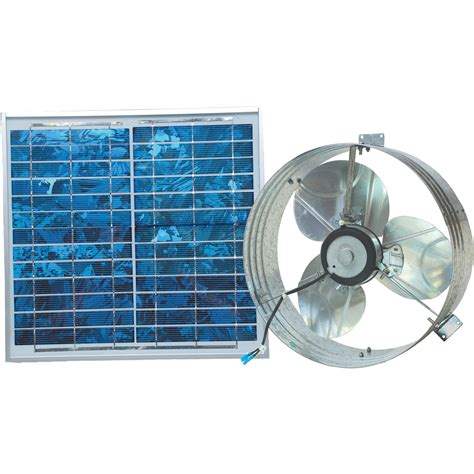 Ventamatic Solar Powered Ventilating Fan With Panel