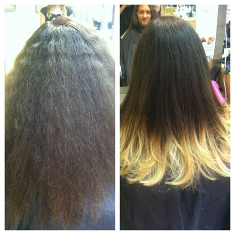 hair styles brown on botton and blond on top pictures of it blonde tips ombre hair before and after by hiimgaymolly on