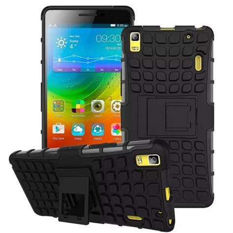 Lenovo A7000 Rugged Shockproof Armor Hybrid Soft 2 for lenovo a7000 shockproof heavy duty rugged armor with stand for lenovo a7000 silicone pc jpg