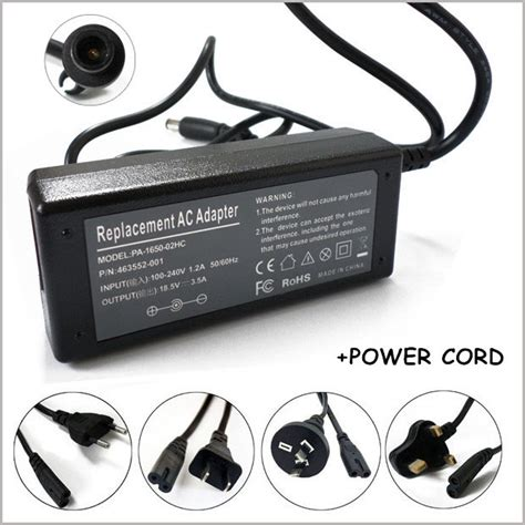 Adaptor Notebook Hp Mini 18 5v 3 5a 65w laptop ac adapter netbook charger for notebook hp mini 1331 2100 2133 2140 2510