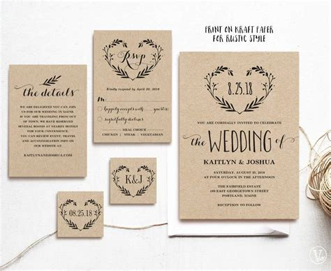 Templates Wedding Invitations by Free Wedding Invitation Templates Wedding Invitation