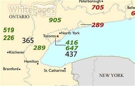 416 Area Code Lookup 416 Area Code Zip Code
