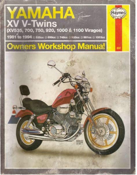 1992 yamaha virago xv 750 wiring diagram wiring