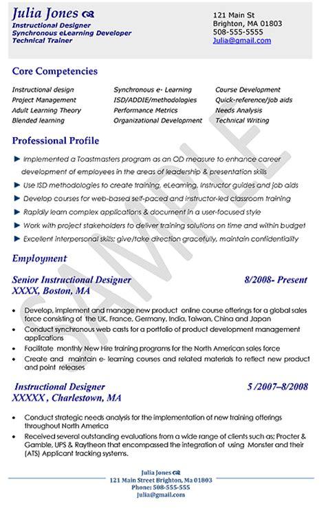 designer resume exles sles