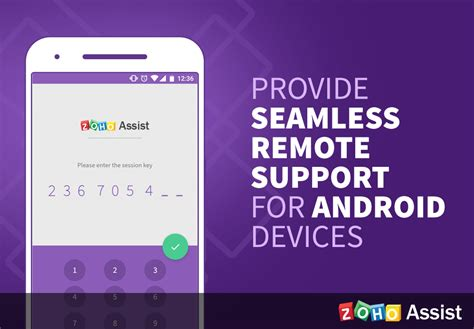 remotely android support android devices remotely using zoho assist 171 zoho
