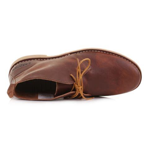 Cognac Leather by Mens Jones Gobi Desert Leather Cognac Lace Up Ankle Boots Shoes Size 6 12 Ebay