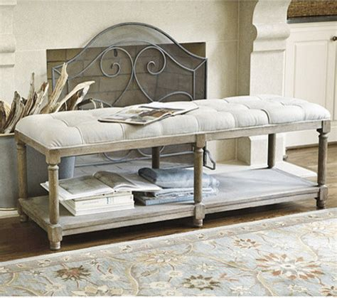 benches bedroom saverne tufted bench contemporary upholstered benches
