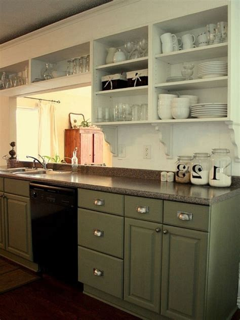 kitchen dresser ideas painted kitchen cabinets ideas as kitchen remodeling ideas