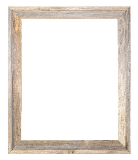 wood frame 24x30 2 wide barnwood reclaimed wood open frame no