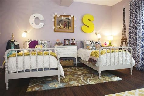 shared bedroom remodelaholic get this look girls shared bedroom symmetry
