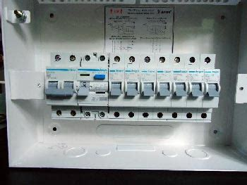 house electric board consumer unit eze electrical contractors