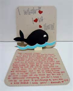 handmade card for boyfriend silly hammy hoblob lover day cards the