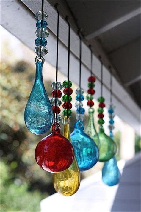 Handmade Suncatchers - blown glass ornaments unique ornaments handmade